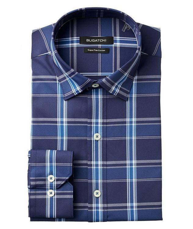 Checked Stretch-Blend Shirt picture 1