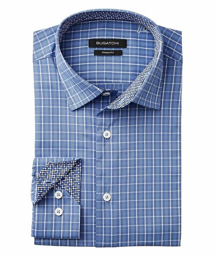 Checked Stretch-Performance Shirt image 1