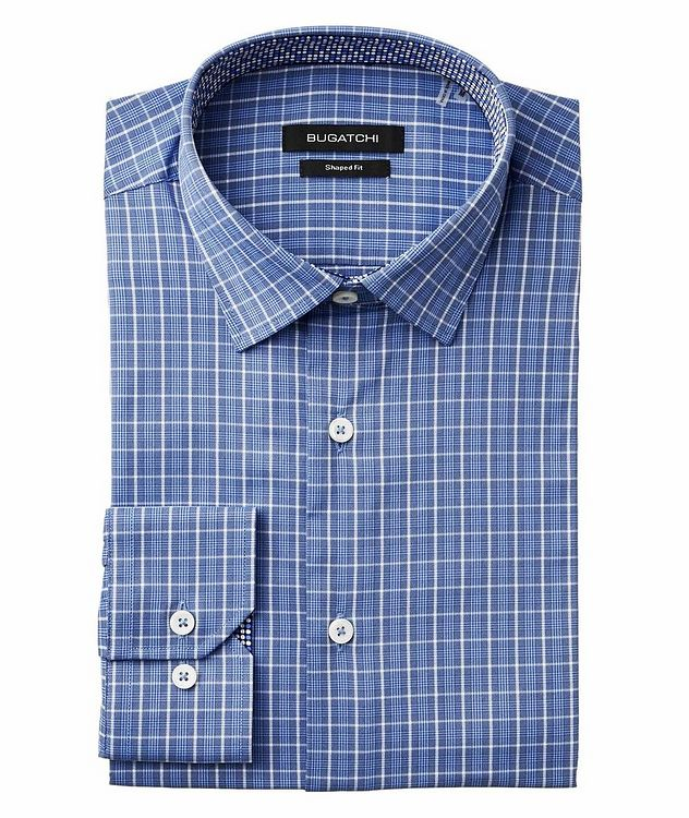 Checked Stretch-Performance Shirt picture 1