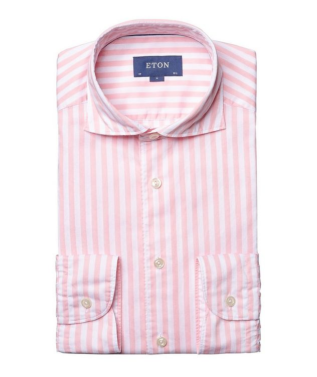 Soft Slim Fit Striped Shirt picture 1