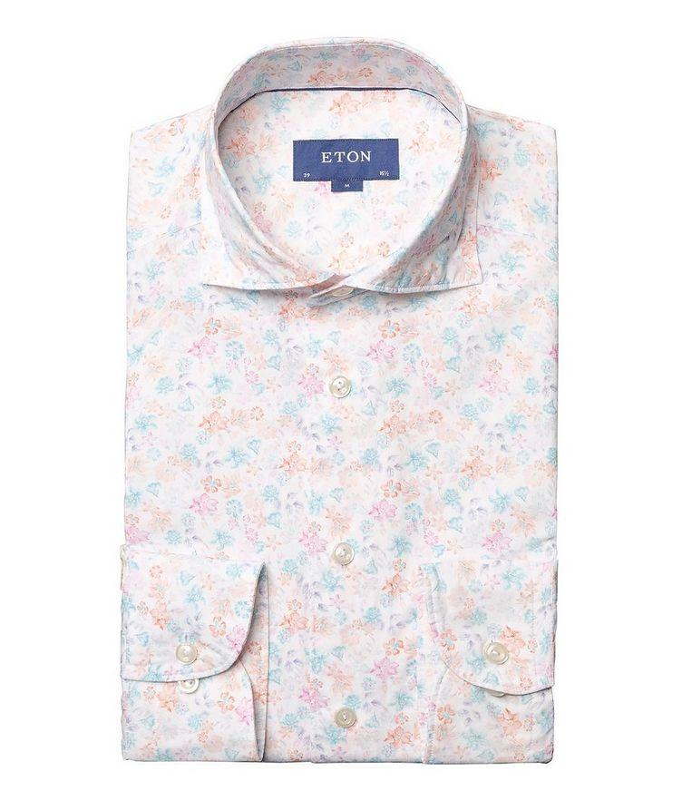 Soft Slim Fit Botanical Shirt  image 0