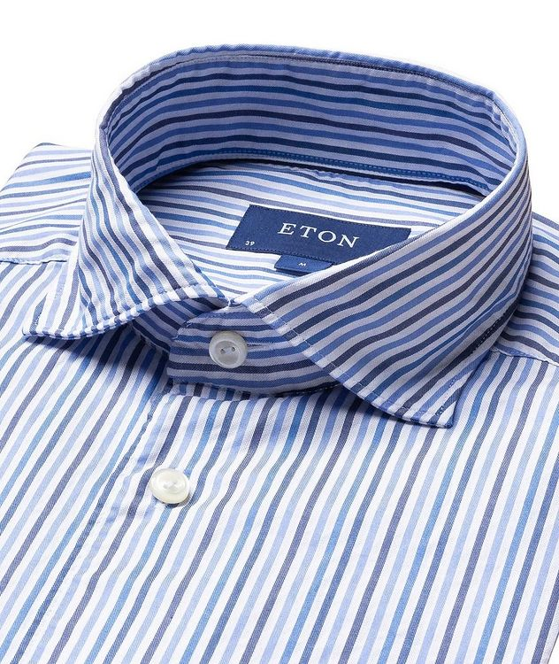 Contemporary Fit Striped Shirt picture 2