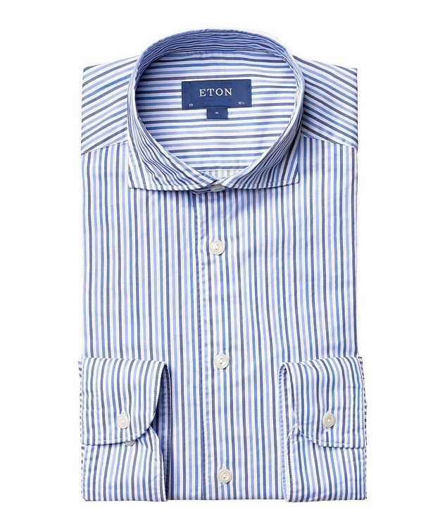 Contemporary Fit Striped Shirt picture 1
