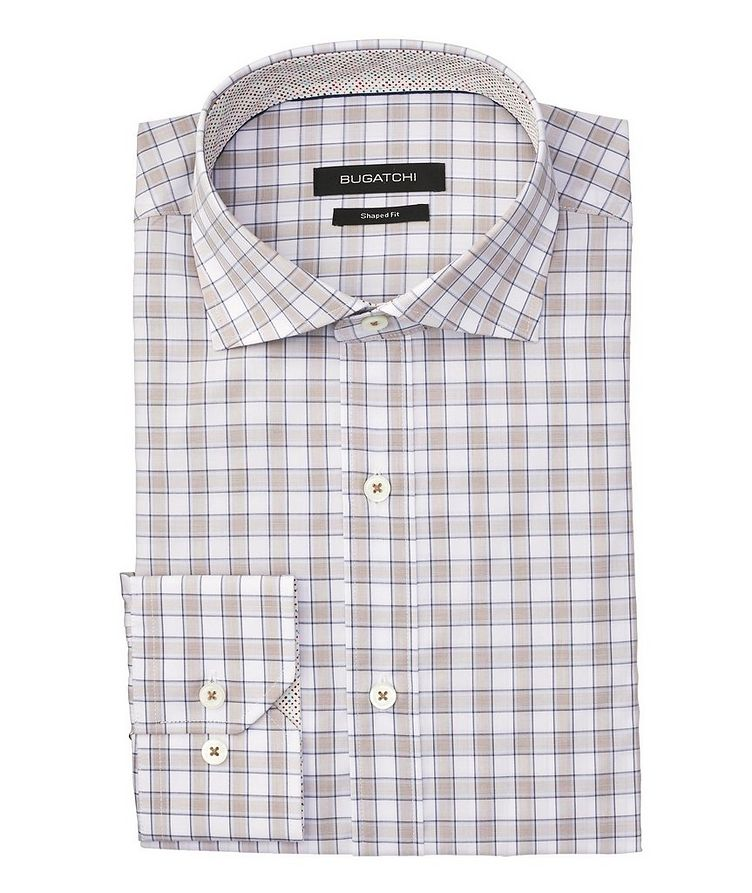 Checked Cotton Shirt image 0