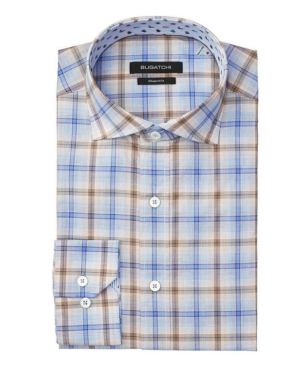 Windowpane Checked Cotton Shirt picture 1