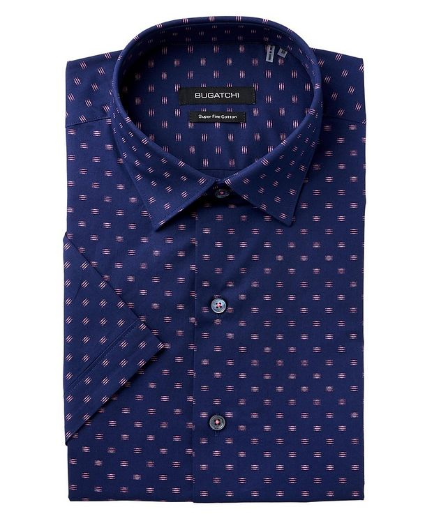 Printed Cotton Short Sleeve Shirt  picture 1
