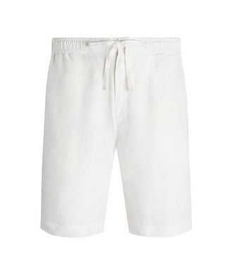 Bugatchi Linen Shorts