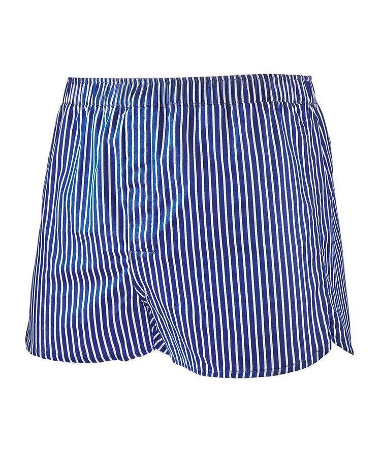 Striped Cotton Boxers image 0