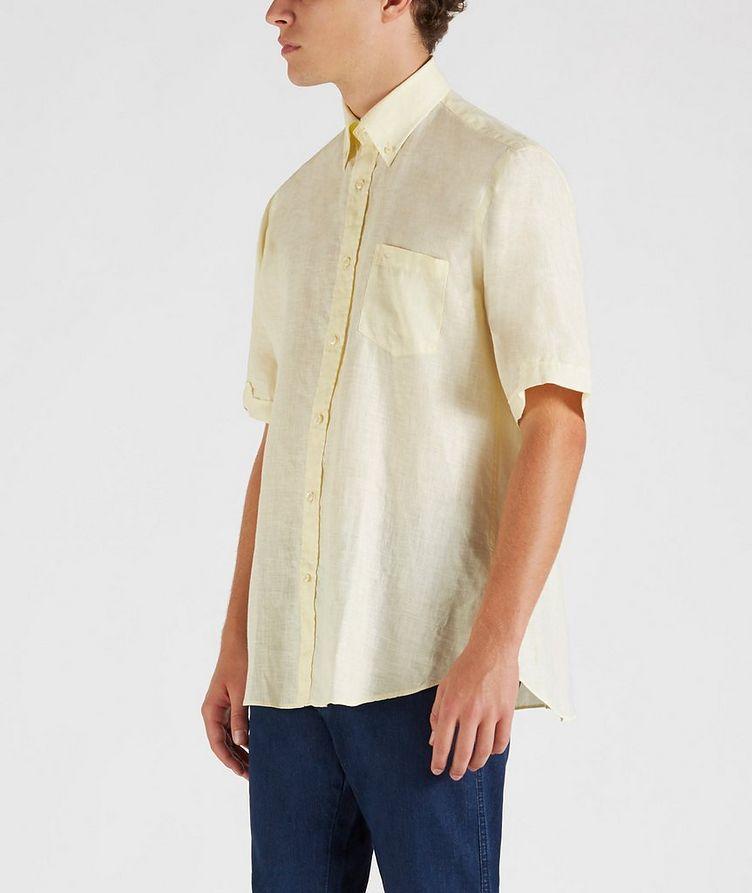 Short-Sleeve Linen Shirt image 2