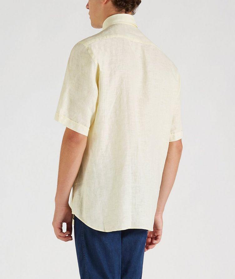 Short-Sleeve Linen Shirt image 3