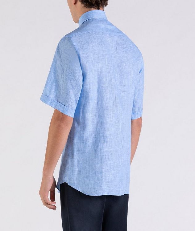 Short-Sleeve Linen Shirt picture 3