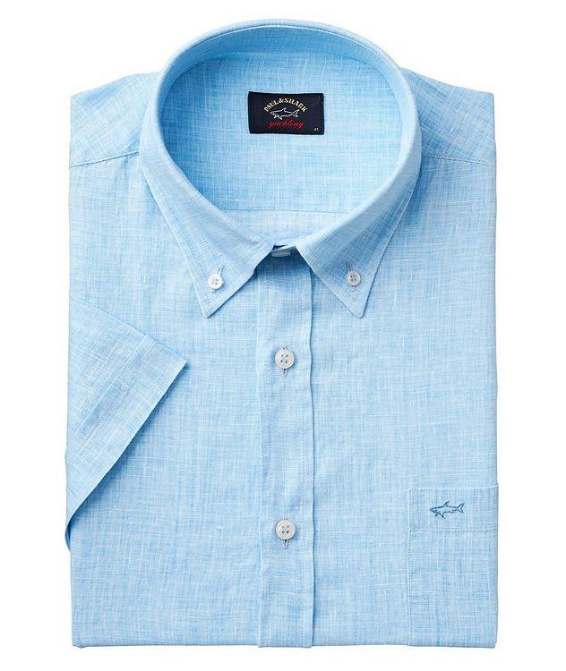 Short-Sleeve Linen Shirt picture 1