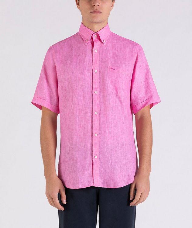 Short-Sleeve Linen Shirt picture 2
