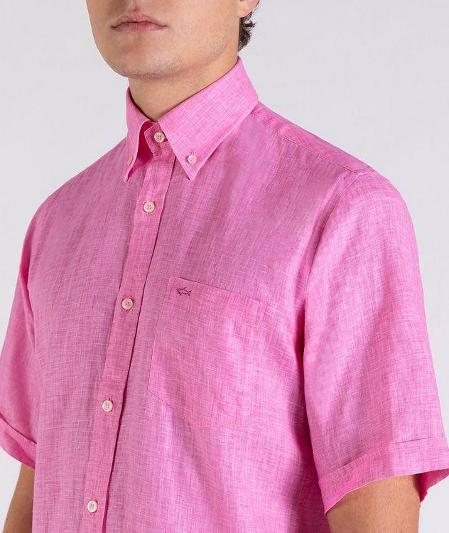 Short-Sleeve Linen Shirt picture 4