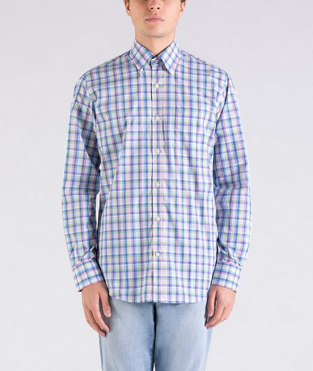 Plaid Cotton Shirt picture 1