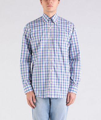 Paul & Shark Plaid Cotton Shirt