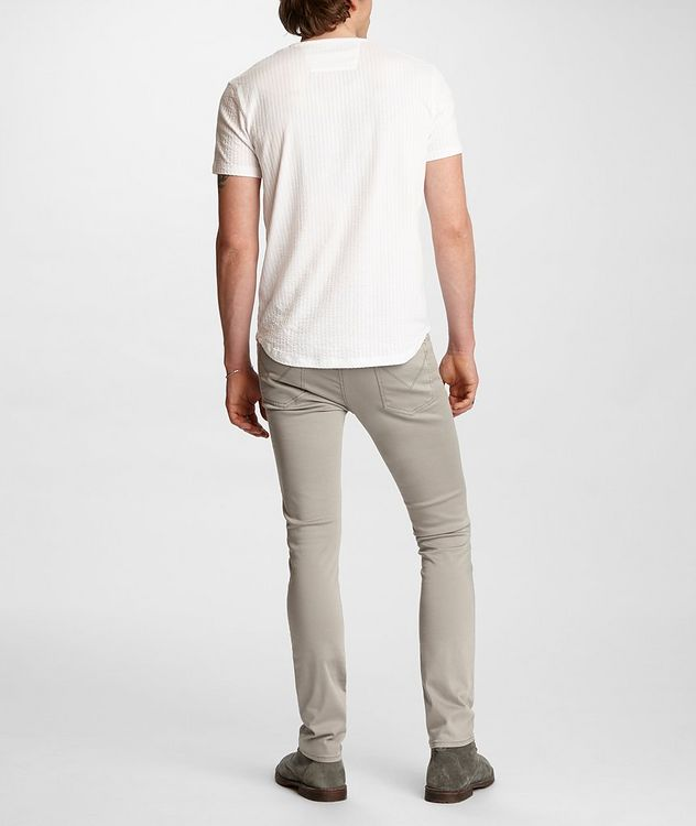 Short-Sleeve Cotton Henley picture 5
