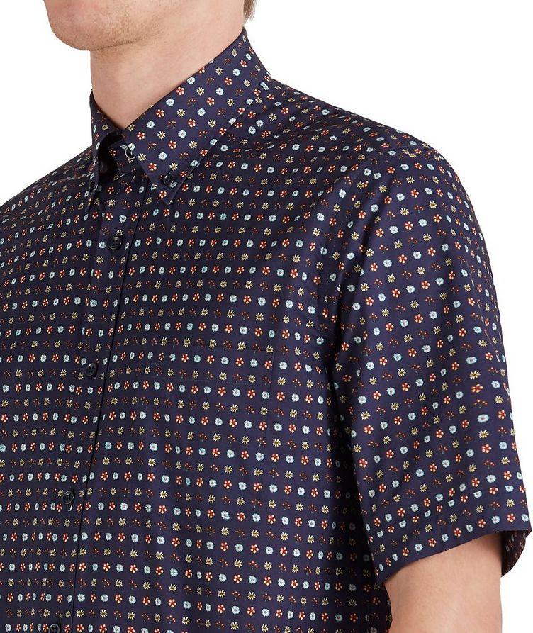 Short-Sleeve Botanical Cotton Shirt image 3