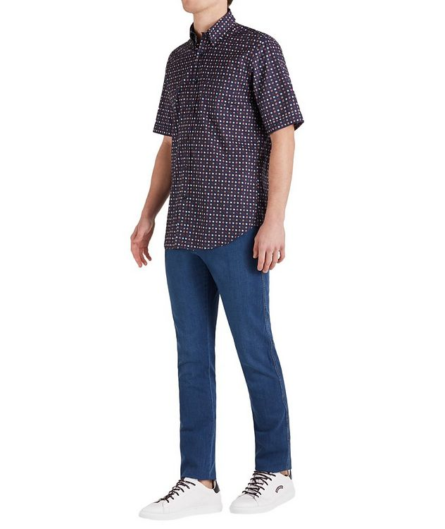 Short-Sleeve Botanical Cotton Shirt picture 5