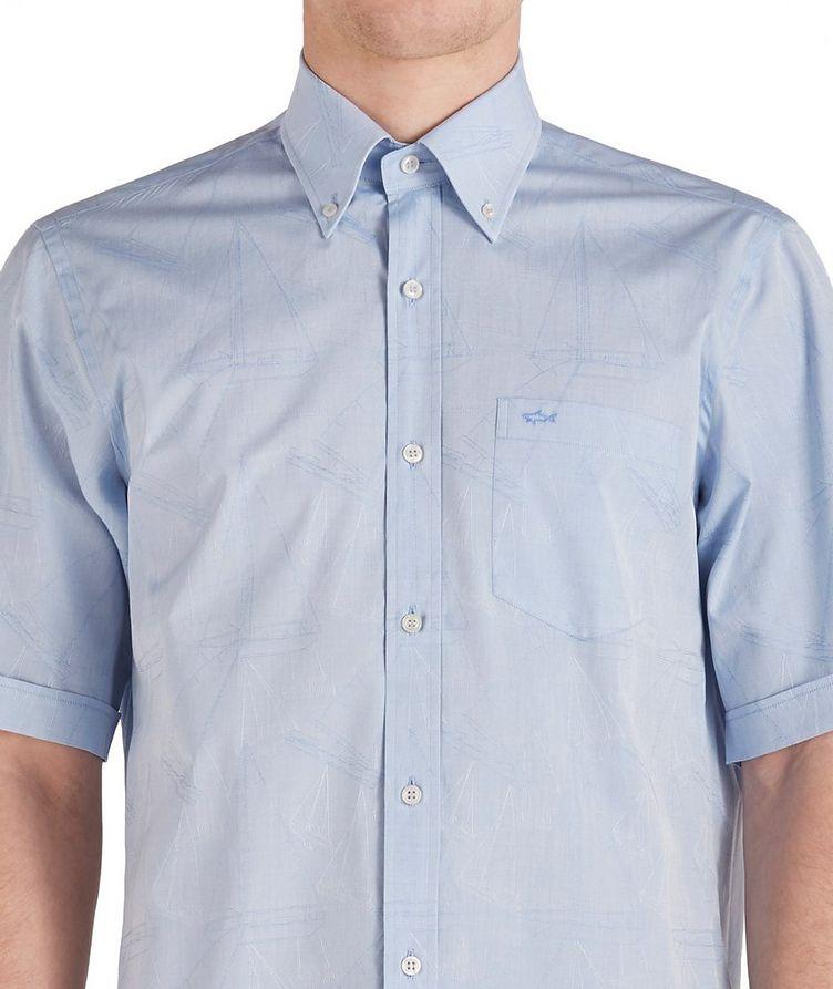 Short-Sleeve Printed Cotton Shirt image 2