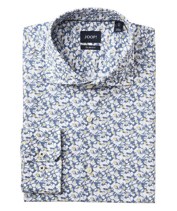 Botanical-Printed Cotton Shirt image 0