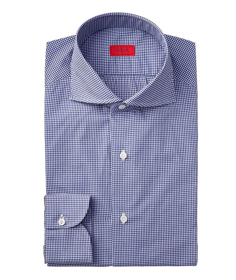 Contemporary Fit Gingham Checked Dress Shirt image 0