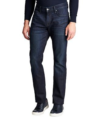 7 For All Mankind The Straight Airweft Denim Jeans