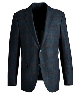 Ermenegildo Zegna Milano Easy Wool, Silk & Linen Sports Jacket