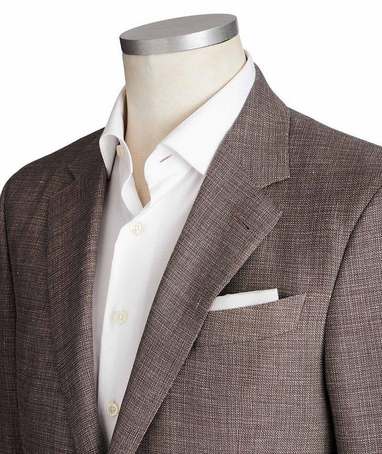 Milano Easy Linen, Wool & Silk Jacket image 1