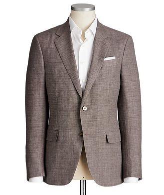 Ermenegildo Zegna Milano Easy Linen, Wool & Silk Jacket