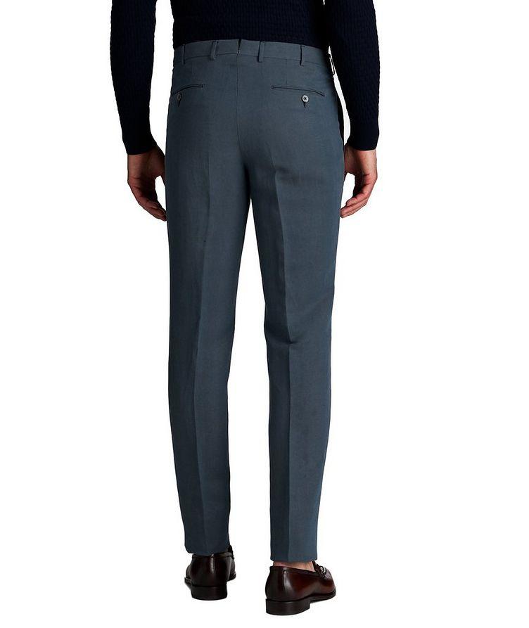 Linen-Silk Dress Pants image 1