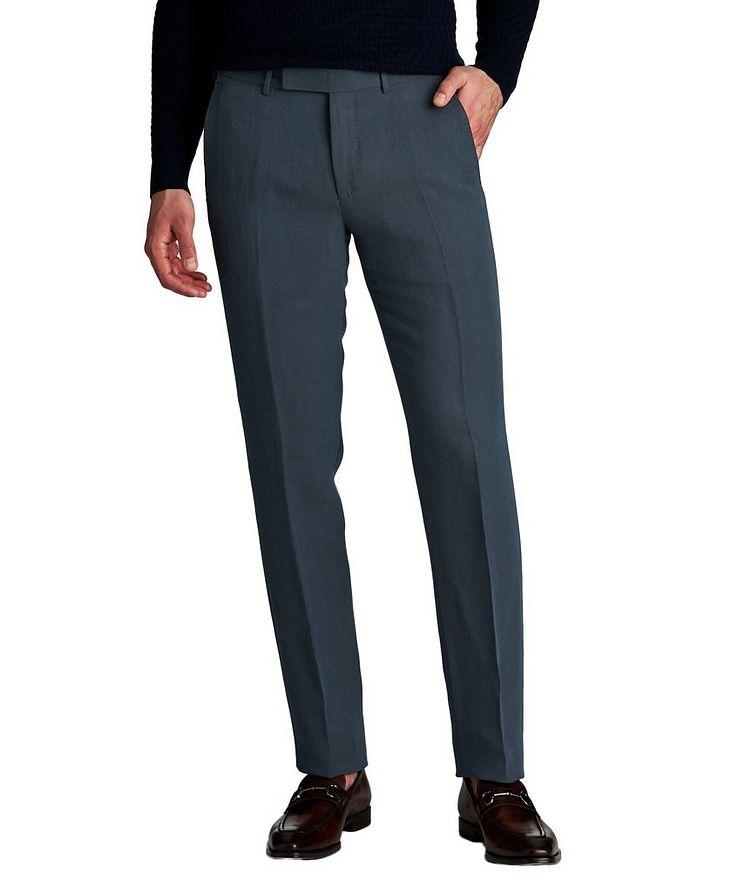 Linen-Silk Dress Pants image 0