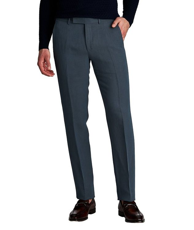 Linen-Silk Dress Pants picture 1