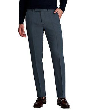 Ermenegildo Zegna Linen-Silk Dress Pants