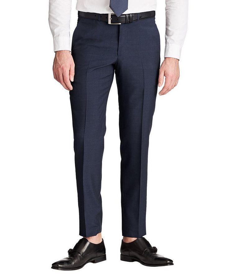 Pantalon habillé de coupe amincie image 0