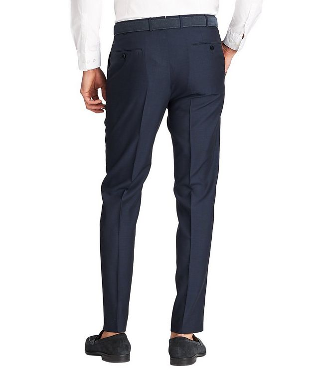 Leggerissimo Slim Fit Wool-Silk Dress Pants picture 2