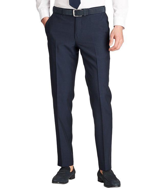 Leggerissimo Slim Fit Wool-Silk Dress Pants picture 1