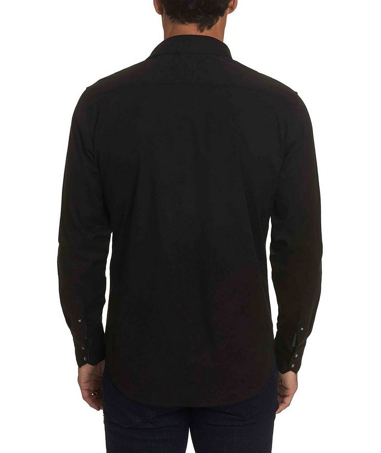 Jacquard Stretch-Cotton Shirt image 1