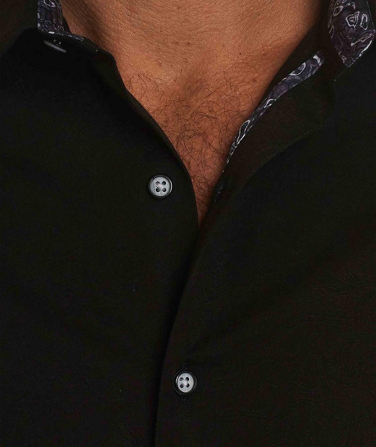 Jacquard Stretch-Cotton Shirt image 2