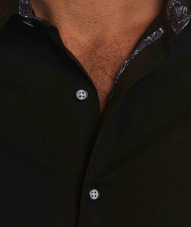 Jacquard Stretch-Cotton Shirt picture 3