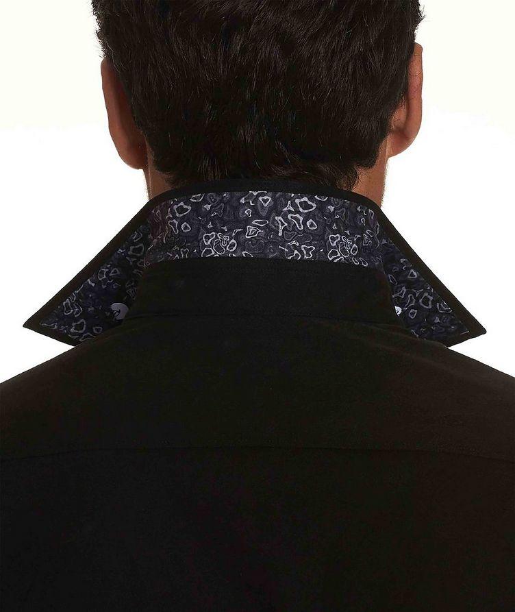 Jacquard Stretch-Cotton Shirt image 4