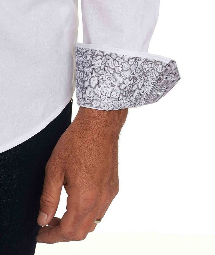 Jacquard Stretch-Cotton Shirt image 3