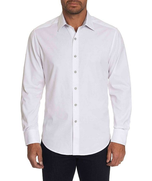 Jacquard Stretch-Cotton Shirt picture 1