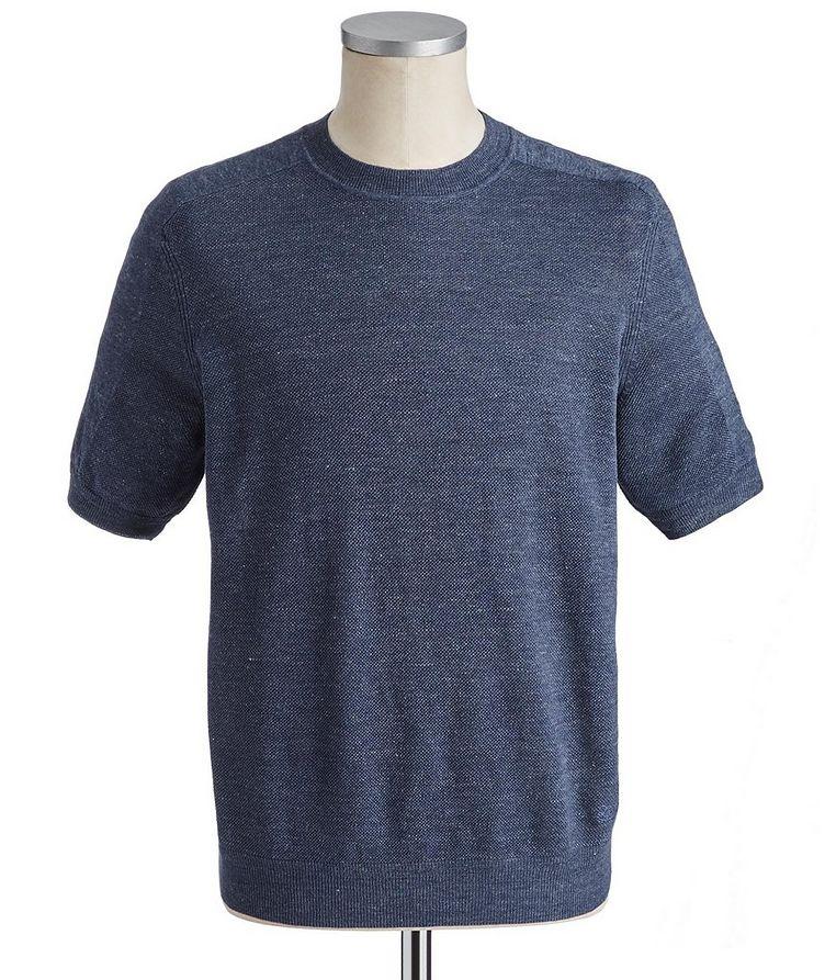 Linen-Cotton T-Shirt image 0