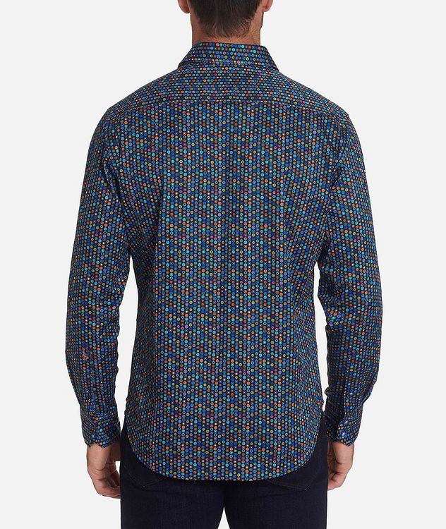 Medallion-Printed Stretch-Cotton Shirt picture 2