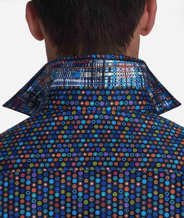 Medallion-Printed Stretch-Cotton Shirt image 2