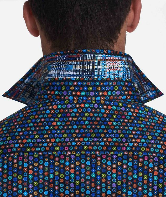 Medallion-Printed Stretch-Cotton Shirt picture 3