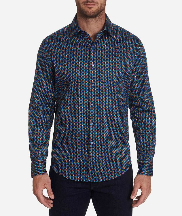 Medallion-Printed Stretch-Cotton Shirt picture 1