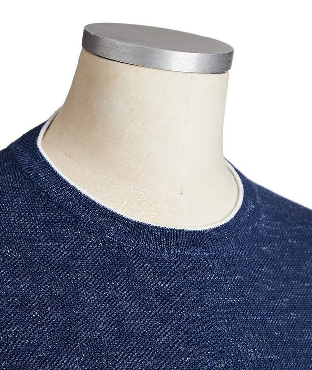 Wool, Silk & Linen Sweater  picture 2