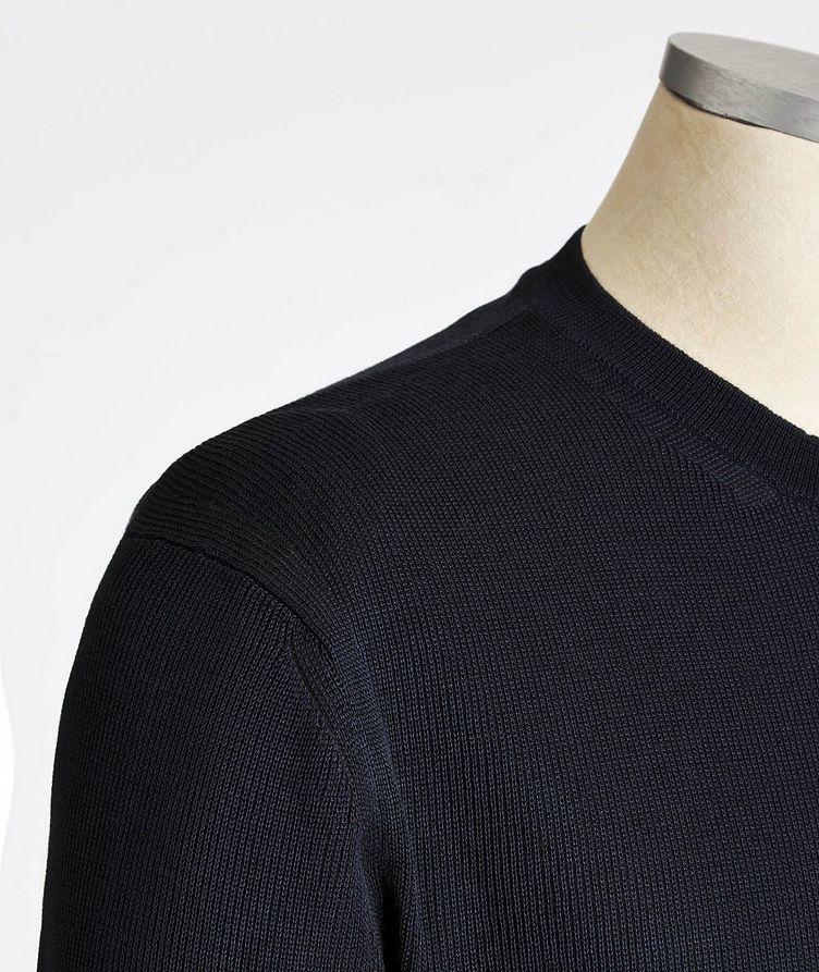 Silk-Cotton Sweater image 1